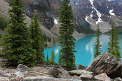 Scenic Moraine Lake Stock Photos
