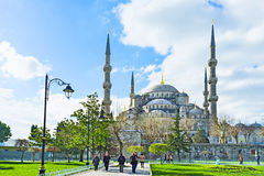 The scenic mosque Royalty Free Stock Image