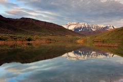 Scenic mount timpananogos Stock Images
