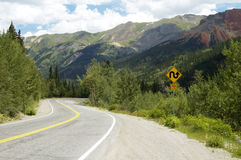 Scenic Mountain Highway Stock Photos