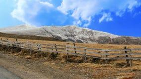 Scenic mountain stock video