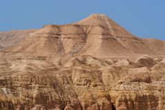 Scenic Mountain In Stone Desert Royalty Free Stock Photography