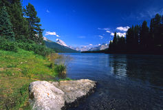 Scenic Mountain Lake Royalty Free Stock Photo