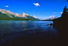 Scenic Mountain Lake Stock Photography