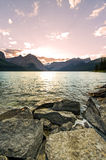 Scenic Mountain Lake Stock Image