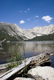 scenic mountain lake,Devils bathtub stock photo