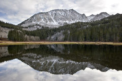 Scenic mountain lake,High Sierra lake Royalty Free Stock Photo