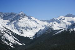Scenic mountain landscape Royalty Free Stock Images