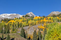 Scenic Mountain Landscape in Autumn Royalty Free Stock Photo