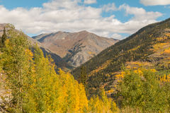 Scenic Mountain Landscape in Fall Royalty Free Stock Photography