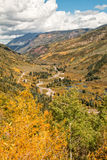 Scenic Mountain Landscape in Fall Royalty Free Stock Image