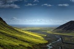 Scenic mountain landscape shot Stock Photo