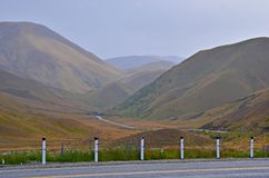 Scenic Mountain Road, New Zealand Royalty Free Stock Photo