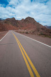 Scenic mountain road Stock Image
