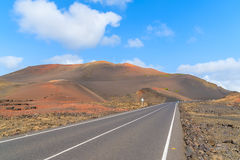 Scenic mountain road Royalty Free Stock Photo
