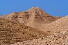 Scenic mountain in stone desert Stock Image