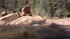 Scenic Mountain Stream stock video footage