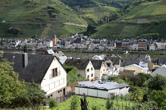 Scenic mountain town Stock Photography