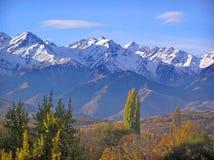 Scenic mountain view. Ile Alatau mountains, Almaty, Kazakhstan Stock Photo