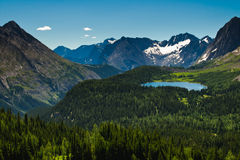 Scenic Mountain Views Royalty Free Stock Photography