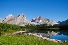 Scenic Mountain Views Kananaskis Country Alberta Canada Royalty Free Stock Images