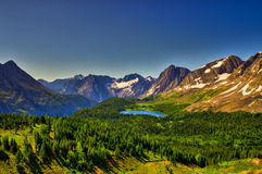 Scenic Mountain Views Kananaskis Country Alberta Canada Stock Images