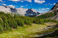 Scenic Mountain Views Kananaskis Country Alberta Canada Royalty Free Stock Photos