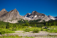 Scenic Mountain Views Kananaskis Country Alberta Canada Royalty Free Stock Images