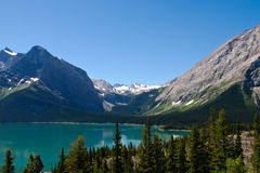 Scenic Mountain Views Kananaskis Country Alberta Canada Stock Image
