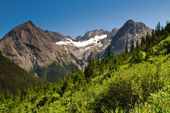 Scenic Mountain Views Kananaskis Country Alberta Canada Stock Photos