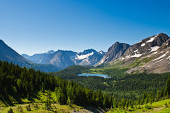 Scenic Mountain Views Kananaskis Country Alberta Canada Stock Photography