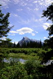 Scenic mountain Vista,Banff,Alberta,Canada Royalty Free Stock Photos