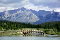 Scenic mountain Vista,Banff,Alberta,Canada Royalty Free Stock Photo