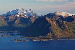 Scenic mountains Stock Photo