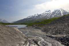 Free Scenic Mountains In Alaska Royalty Free Stock Images - 32184549