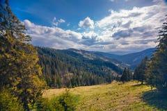 Scenic mountains of Romania, Transylvania Royalty Free Stock Photo