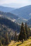 Scenic mountains of Romania, Transylvania Stock Photos