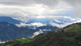 Scenic mountains in Taiwan Stock Photo