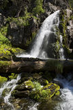 Scenic Muehtinsky waterfall in Altai Republic Royalty Free Stock Images