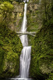 Scenic Multnomah Falls in Oregon Royalty Free Stock Photo