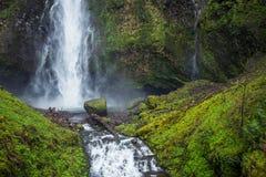 Scenic Multnomah Falls royalty free stock photo