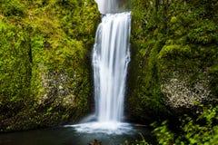 Scenic Multnomah Falls in Oregon Stock Photography