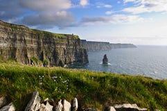scenic nature irish landscape seascape Royalty Free Stock Image