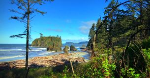 Scenic Nature Washington State - Olympic National Park.  stock image