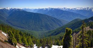 Scenic Nature Washington State - Olympic National Park.  royalty free stock photography