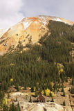 Scenic near Red Mountain pass, Colorado Stock Photography