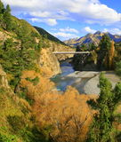 Scenic New Zealand. This mountain picture was taken near Hanmer Springs, New Zealand Stock Image