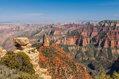 Scenic North Rim Grand Canyon Royalty Free Stock Images