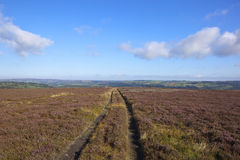Scenic north york moors Stock Images