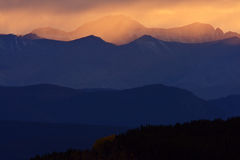 Scenic Northern Rockies of British Columbia. Canada Stock Image